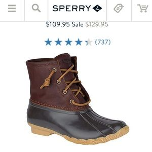 Used sperry rain boots